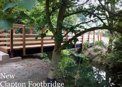 Clapton-Footbridge